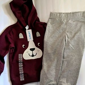 NWT! Carter's boys 2pc outfit 2T